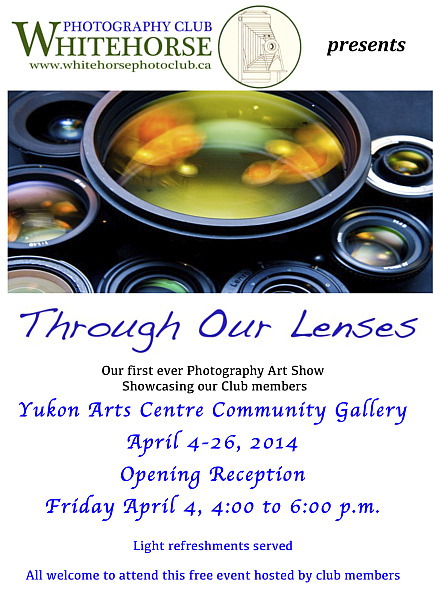 """Through Our Lenses"" WPC Print Exhibition poster"